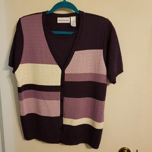 NWOT Alfred Dunner sweater Large